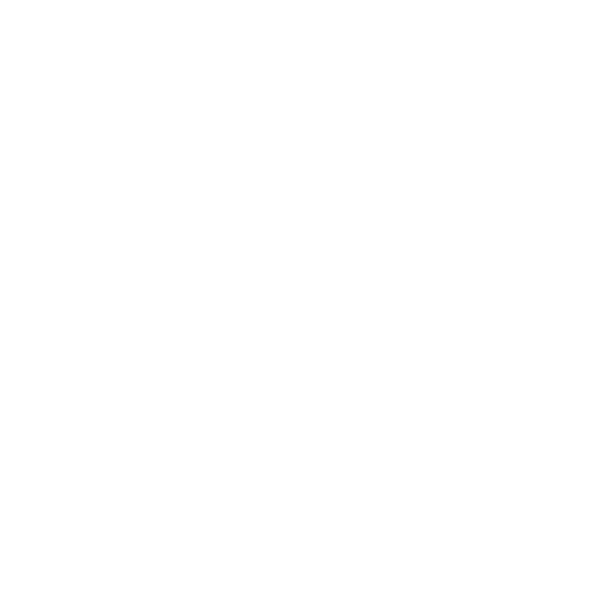 White icon of question mark with circle around it